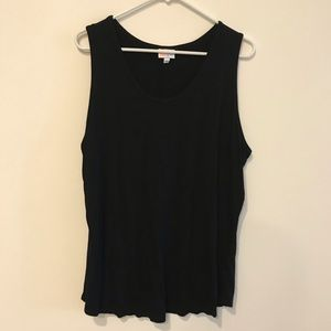 LulaRoe Tank Top Black 3xl